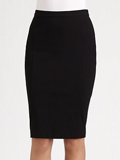 Jean Paul Gaultier - Lace-Up Pencil Skirt