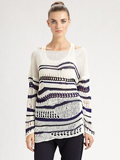 Jean Paul Gaultier - Open-Weave Sweater