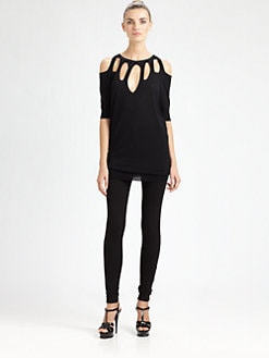 Jean Paul Gaultier - Cutout Knit Top
