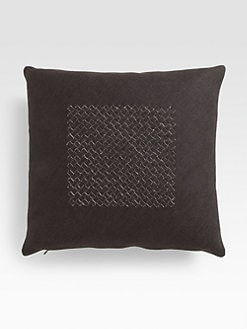 Bottega Veneta - Intrecciato Linen Cushion