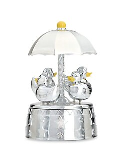 Reed & Barton - Something Duckie Silverplated Carousel