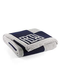 Ralph Lauren - Montclair Reversible Wool Throw Blanket