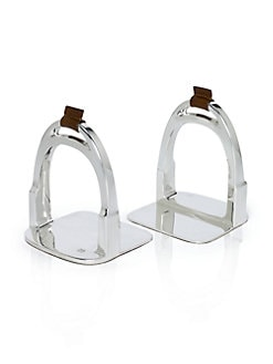 Ralph Lauren Home - Derbyshire Stirrup Bookends