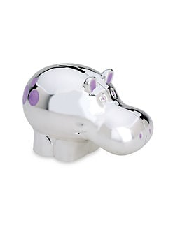 Reed & Barton - Hippo Coin Bank