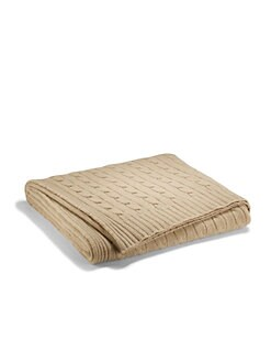 Ralph Lauren Home - Classic Cable Cashmere Throw