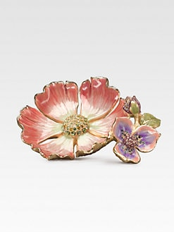 Jay Strongwater - Flower Trinket Tray