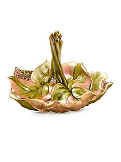 Jay Strongwater - Leaf Ring Dish