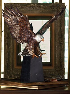 Jay Strongwater - Washington Grand Eagle Figurine