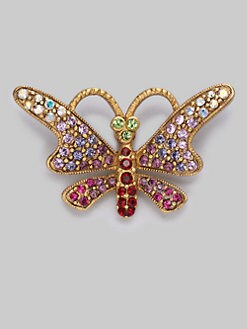 Jay Strongwater - Jeweled Butterfly Tack Pin