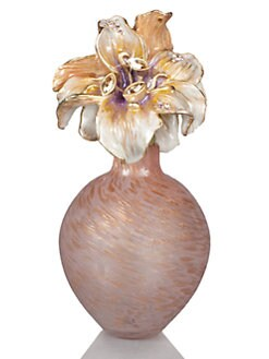 Jay Strongwater - Lily Glass Perfume Bottle