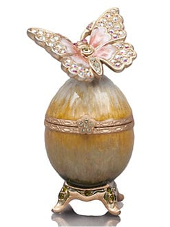 Jay Strongwater - Amelie Butterfly Egg Box