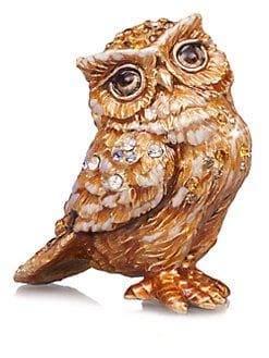 Jay Strongwater - Bill Owl Figurine