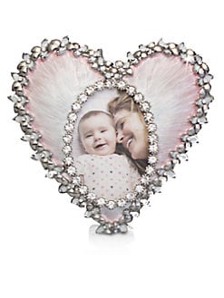 Jay Strongwater - Enameled Heart Frame