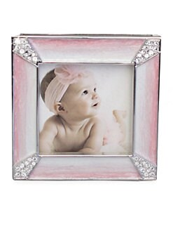 Jay Strongwater - 2 X 2 Pave Crystal-Cornered Frame