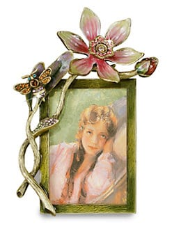 Jay Strongwater - 2 x 3 Tulia Bouquet Frame