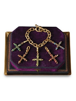 Jay Strongwater - Birthstone Cross Charm