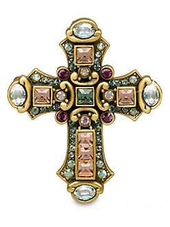 Jay Strongwater - Medieval Cross Pin/Pendant