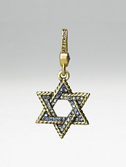 Jay Strongwater - Star Of David Charm