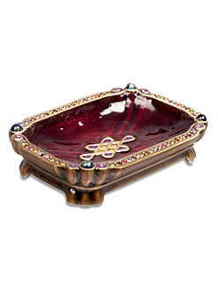 Jay Strongwater - Mystic Knot Trinket Tray