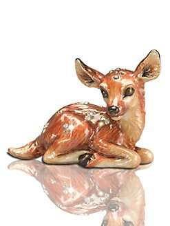 Jay Strongwater - Fawn Mini Figurine