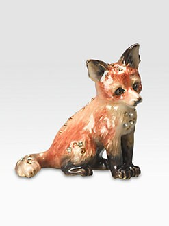 Jay Strongwater - Mini Fox Figurine