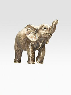 Jay Strongwater - Mini Elephant Figurine