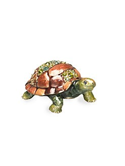 Jay Strongwater - Mini Turtle Figurine