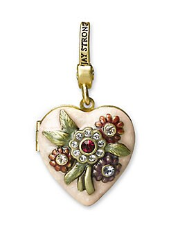 Jay Strongwater - Breast Cancer Research Foundation Locket