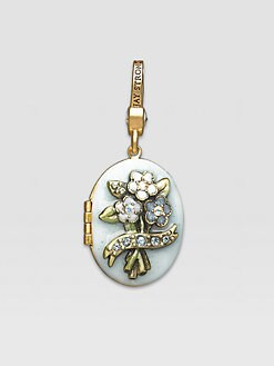 Jay Strongwater - March Locket Charm