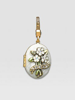 Jay Strongwater - April Locket Charm
