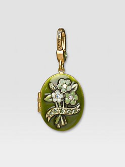 Jay Strongwater - August Locket Charm