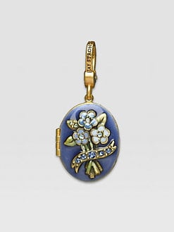 Jay Strongwater - September Locket Charm