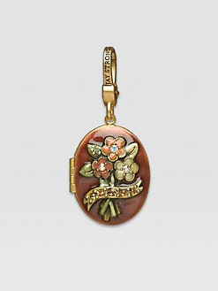 Jay Strongwater - November Locket Charm