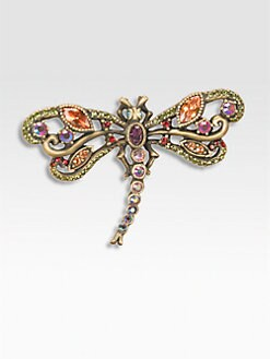 Jay Strongwater - Crystal Dragonfly Pin/Small