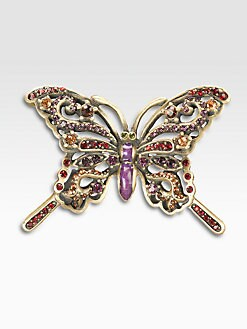 Jay Strongwater - Crystal Butterfly Pin