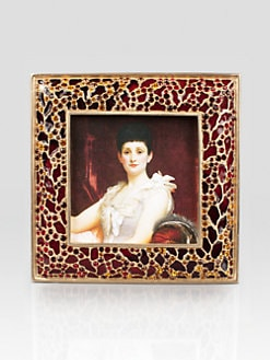 Jay Strongwater - Leopard Square Frame