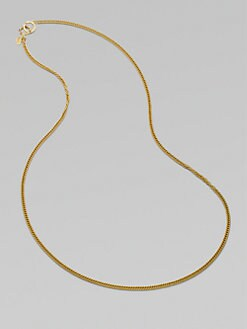 Jay Strongwater - Crystal-Accented Chain/36