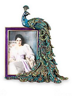 Jay Strongwater - 4 X 6 Peacock Feather Frame