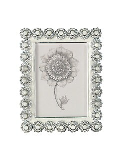 Jay Strongwater - Jeweled Flower-Edged Frame