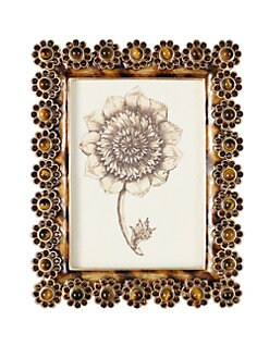 Jay Strongwater - Jeweled Flower Frame