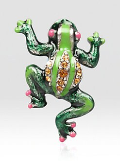 Jay Strongwater - Frog Tack Pin