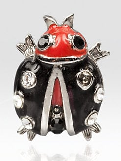 Jay Strongwater - Caroline Lady Bug Tack Pin