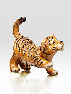 Jay Strongwater - Tiger Mini Figurine