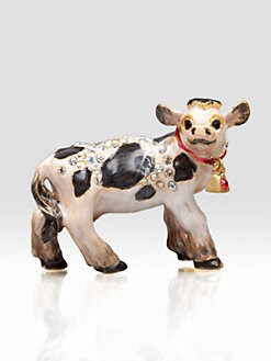 Jay Strongwater - Cow Mini Figurine