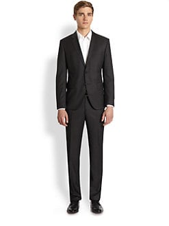 BOSS Black - Two-Button Wool Suit