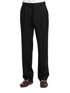 BOSS Black - Dr. Hook Pleated Trousers