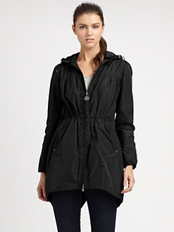 Moncler - Hi-Lo Hooded Raincoat