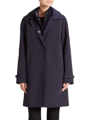 JANE POST Double Long-Sleeve Coat