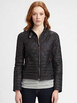 Hunter - Quilted Moto Jacket