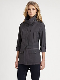 Ashley B - Convertible Military Parka